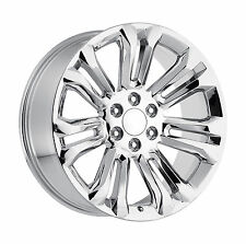 26 GMC Replica Wheels Chrome Rims Sierra Denali Yukon Silverado Tahoe Escalade