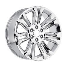 24 GMC Replica Wheels Chrome Rims Tires Sierra Denali Yukon Silverado Tahoe 26