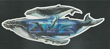 VANUATU # 787a MNH WHALES: HUMPBACK, SPERM, BLUE. Cut-out Mother & Baby Whales