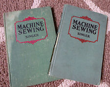 2 Vintage Singer Sewing Books 1924 1928 For Teachers