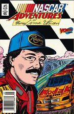 NASCAR ADVENTURES STARRING ERNIE IRVAN VOL 1,#5 MARCH 1992,COMIC BOOK,MINT COND
