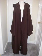 Marrone Con Cappuccio Jedi Robe / cloak-star wars-gothic-steam Punk silth MEDIEVALE