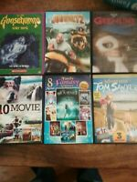 Lot of 6 Family DVDs Gremlins Goosebumps etc FREE SHIPPING 40