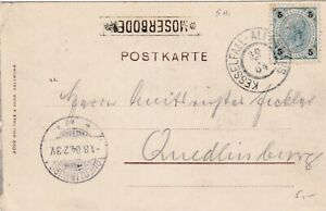 Austria 1904. Postcard sent from the Moserboden postablage