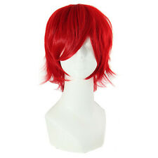 Men's Short Red Wig Party Dress Almighty Costume Cosplay Wigs