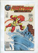 THE FURY OF FIRESTORM THE NUCLEAR MAN #61 (7.0)  SUPERMAN TEST LOGO VARIANT RARE