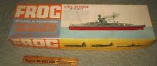 Original box Plastic model kit Frog cat#122P H.M.S. Revenge Battleship unbuilt