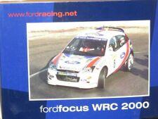 1/18 Ford Focus RS WRC Valvoline  Rally Monte Carlo 2000   C.Sainz