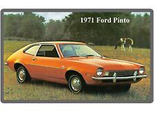 1971 Ford Pinto Auto Refrigerator / Tool Box Magnet