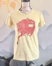 Women's Medium American Apparel Vintage Woot Black Cat Kitty Lion Roar T Shirt