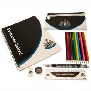 Official NEWCASTLE UNITED FC Large Bumper STATIONERY Set