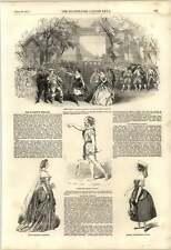 1851 Gaetano PARDI Mlle Monti la sua majestys TEATRO
