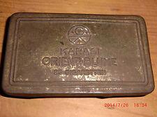 Zigarettenschachtel alt aus Metall