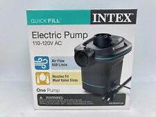NIB Intex Quick Fill Electric Air Pump 110-120V AC w/ Nozzles