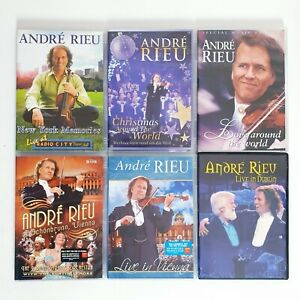 Andre Rieu Lot of 6 x Movies DVD Region 4 AUS Free Postage - Concert Musical