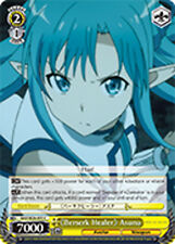 Weiss Schwarz  x 4 《Berserk Healer》 Asuna [SAO/SE26-E05 C] English