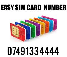 GOLD EASY VIP MEMORABLE MOBILE PHONE NUMBER DIAMOND PLATINUM SIMCARD 334444