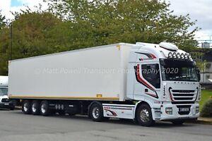 Truck Photo 12x8 - Iveco Stralis 500 - (IRL) 131 WX 1088