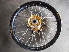 09 SUZUKI RMZ450 Rear Wheel Excel Rim Talon Hub Spokes RM Z 450 Suzuki 08-10 Den