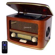 Roadstar HRA-1500 Mp Fm Retro Radio with CD Player RC Real Wood MP3 28 Watt
