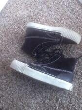 Alexander Wang Womens Black Leather Sneakers 35US $395