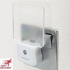 LED Night Light Plug In Auto Sensor Energy Saving Children Nursery Baby Safety