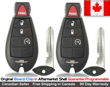 2 OEM New Replacement Keyless Entry Remote Key Fob For Dodge Ram & Jeep Cherokee