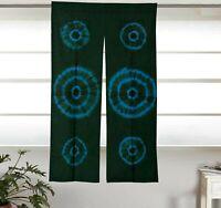 Indian Mandala Window Valance Door Curtain Hippie Bohemian Sheer Curtains IND