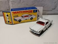 Matchbox Series #8 Ford Mustang by Lesney in Reprobox #34001# #ML#