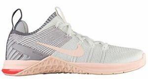 Nike Women's Metcon DSX Flyknit 2 Grey/White/Peach Sz 5 924595-102