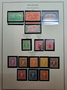 Large Lot of New Zealand Unused Stamps from Display Book