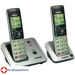 PE DECT 6.0 Expandable Speakerphone with Caller ID (2-Handset System)