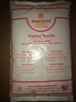 Malted Vanilla Flavor -Belgian waffle & Pancake Mix-5 lbs bag- Heartland Waffles