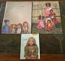 Annette Himstedt 2002 Kinder Book + 2001+2005Club Booklet Features Himmel Kleine