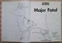 Moebius Rare Comic Artwork & Autographed Major Fatal Writings Complete 3