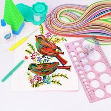 DIY Paper Quilling Tools Set Template Mould Board Tweezer Needles Pen Kit