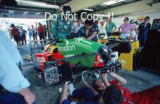 Thierry Boutsen Benetton B188 German Grand Prix 1988 Photograph