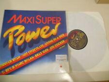 LP va MAXI Super Power (8) canzone Ariola Cassa di Risparmio T. Rex Joe Cocker J. Rush B. Idol