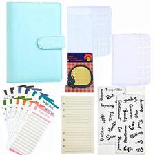 New Listinga6 6 Ring Pu Leatherbudget Binder Planner Organizer With Zip Envelopes Sheets