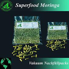 400 Moringa Oleifera Vegi Kapseln á 600mg - 100% ÖKO - vegane Rohkostqualität 1A
