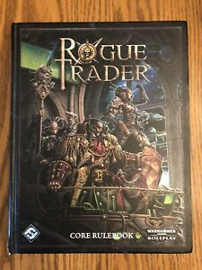 Warhammer 40K Roleplaying Rogue Trader Core Rulebook RPG Source Book Hardcover