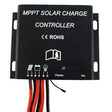 30A MPPT Solar Battery Charge Controller 12V 24V Waterproof Timer 360W/720W GL