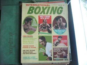 OCTOBER 1968 INTERNATIONAL BOXING  MAGAZINE      GROBEE1957
