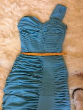 Stunning Vintage Elegant Evening Blue Dress - Late 50s/60's For Very Slim Person