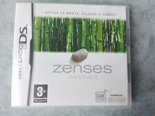 ZENSES RAINFOREST - NINTENDO DS DSi 2DS 3DS PAL ITA ITALIANO COMPLETO COME NUOVO