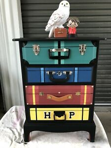 Harry Potter Suitcase Trunk Chest of Drawers