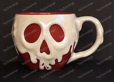 DISNEY STORE Mug POISON APPLE Snow White & Seven Dwarfs CERAMIC Cup 14 oz NEW