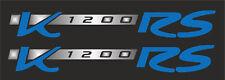 Aufkleber Set für BMW K1200RS Tank Verkleidung K 1200 RS # silber-blau
