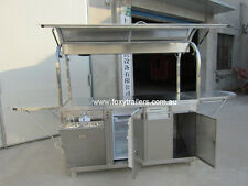 Coffee cart 1900x720x2000mm  (LxWxH) Brand new never been use many accessories