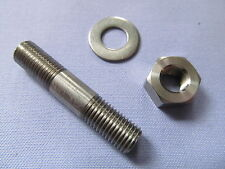06-7671S NORTON DOMINATOR SINGLE ROADHOLDER SLIDER PINCH STUD, NUT & WASHER